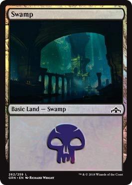 Magic: the Gathering - Swamp (262) - Foil - Planeswalker Deck Exclusive (262/259) - Guilds of Ravnica - Foil ()