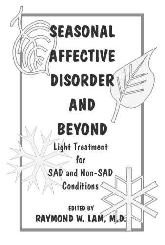 Review Seasonal Affective Disorder and