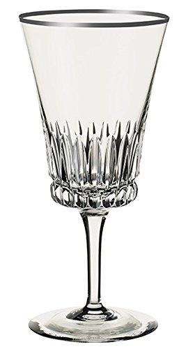 Villeroy & Boch Grand Royal Platinum Wine Goblet, 390 ml, Crystal Glass, Transparent