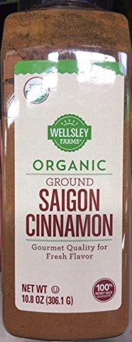Organic Ground Saigon Cinnamon 10.8 Ounce by Amanosses