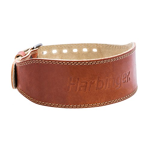 Harbinger Classic Oiled Leather Weightlifting