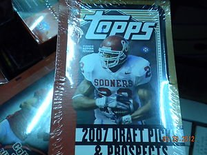 2007 TOPPS DRAFT PICKS AND PROSPECTS FACTORY SEALED BOX !! 8