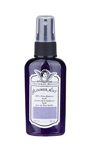 TATTERED ANGELS 22219 Glimmer Mist Water Based Paint, Majesty Purple ()
