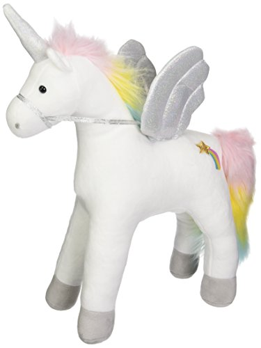 GUND My Magical Sound and Lights Unicorn Stuffed Animal Plush, White, - Gund Dog White Toy