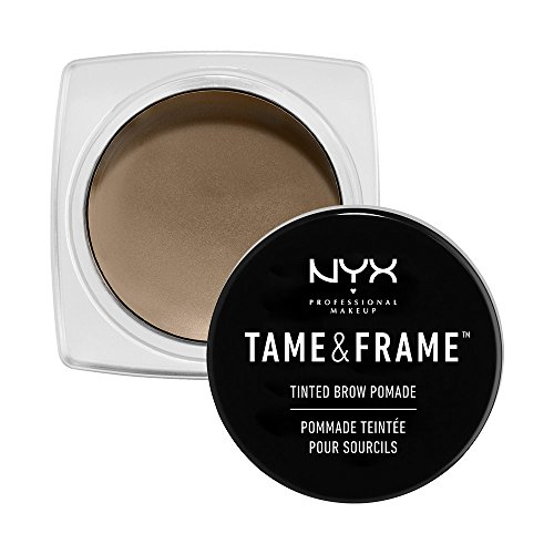 NYX PROFESSIONAL MAKEUP Tame & Frame Brow Pomade, Blonde, 0.18 Ounce