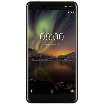 Nokia mobile Nokia 6.1 Dual Sim 3/32 (2018) Factory Unlocked Phone - 5.5Inch Screen - 32GB - Black (U.S. Warranty)