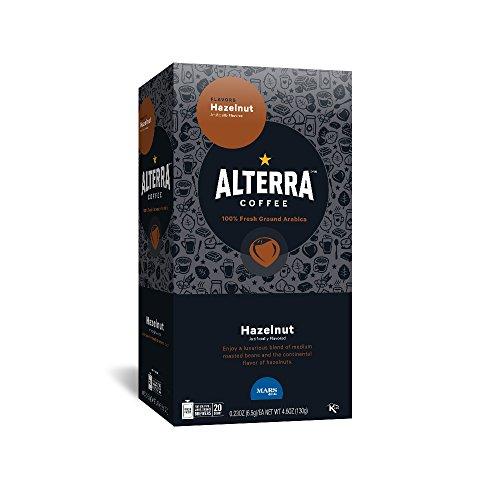 ALTERRA Coffee Hazelnut Single Serve Freshpacks for MARS DRINKS FLAVIA Brewer, 20 Packets