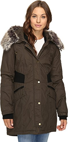 Bomber Parka - French Connection Women's Bomber Parka, Turtle, XS