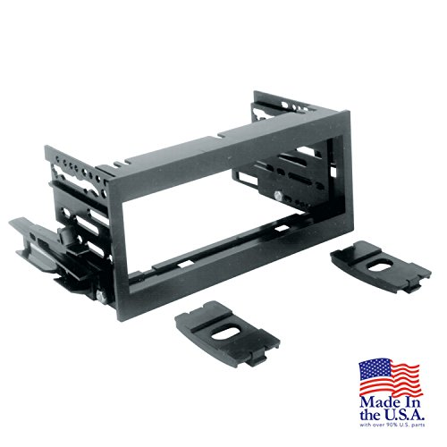 Scosche GM1483B Single Din Installation Kit for Select 1995-2005 Chevrolet/Gmc Trucks ()