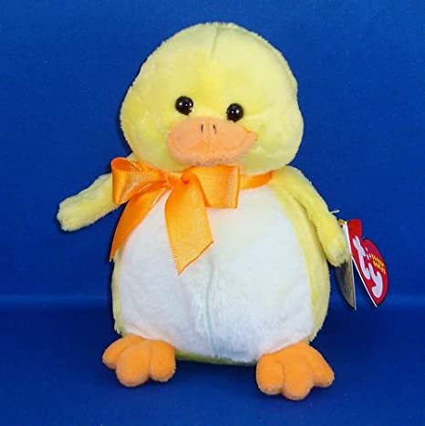 556521310e6 Image Unavailable. Image not available for. Color  Ty Beanie Babies -  Puddles - Yellow Duck