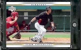 (2007 Upper Deck Baseball Card #899 Adam LaRoche Pirates - Mint Condition - In Protective Display Cas)