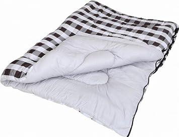 Quest gris comprobar edredón saco de dormir estilo único | Camping caravana: Amazon.es: Deportes y aire libre