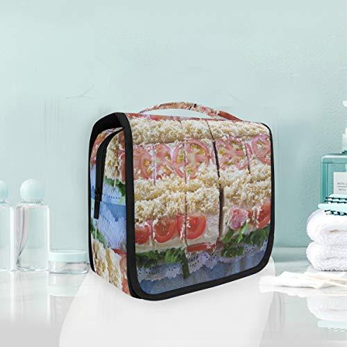 Makeup Bag Cosmetic Storage Bag Food Dish Meal Salad Vegetable Toiletry Portable -