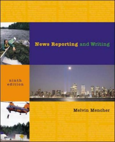 News Reporting and Writing