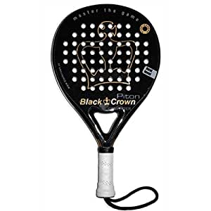 Pala de Pádel Piton 1.0 - Black Crown: Amazon.es: Deportes y aire ...