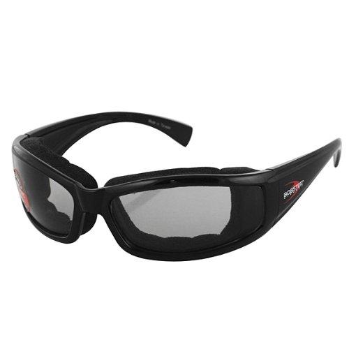 Bobster Black/Smoke Bobster Photochromic Invader Sunglasses Motorcycle Eyewear