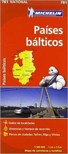 Mapa National Países Bálticos por Vv.aa