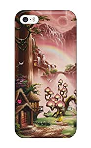 New ShinnyStore Super Strong Christopher Pollari Paintings Tpu Case Cover For Iphone 5/5s