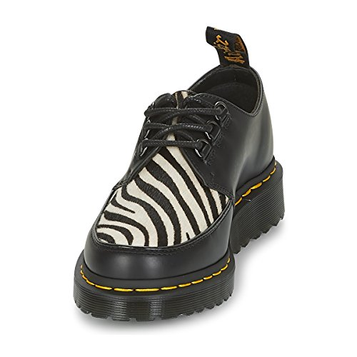Smooth On Martens hair Dr zebrino Zeb Creeper Unisexe Black Ramsey adulte vfxv4Wn6wq