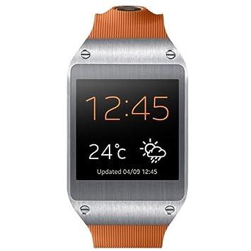 Samsung Galaxy Gear - Smartwatch, Naranja: Amazon.es: Electrónica