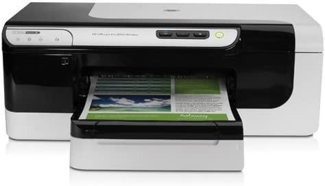 HP Officejet Impresora HP Officejet Pro 8000 - Impresora de tinta ...