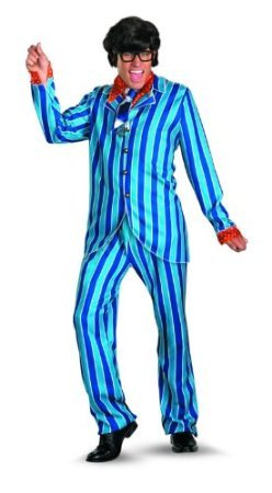 Austin Powers Carnaby Suit Deluxe Costume - XX-Large - Chest Size 50-52 (Austin Powers Girl Costume)