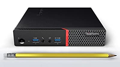 lenovo Thinkcentre M700 Tiny Business Desktop PC | Intel Core i5-6500T Dual-Core up to 3.10 GHz | 4GB DDR3 | 500GB HDD | Windows 10 PRO