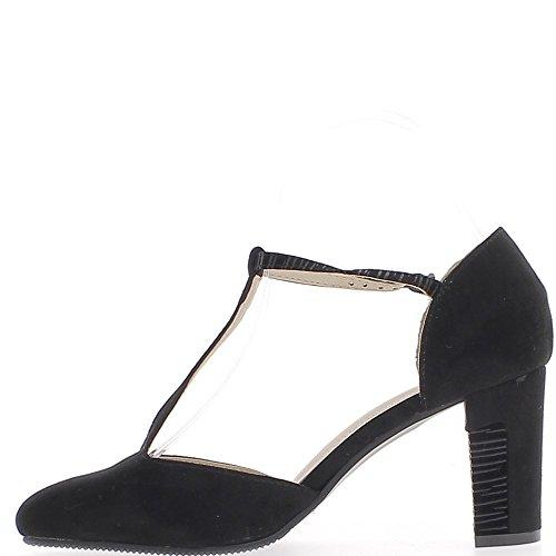 Brida de 5cm de tacón zapatos de mujer 7,