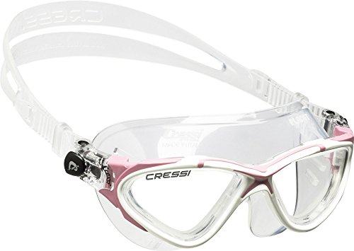 Cressi Sub Goggles - Cressi Planet, clear-white/pink, clear lens