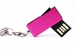 Generic USB 3.0 Flash Drive 4 GB datafortress 100 MB/s Velocidad de lectura portátil, de Memory Stick pulgar USB para Windows 10, 8, 7, XP, color rosa