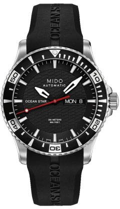 Mido Mens Captain Watch M01.430.17.051.22