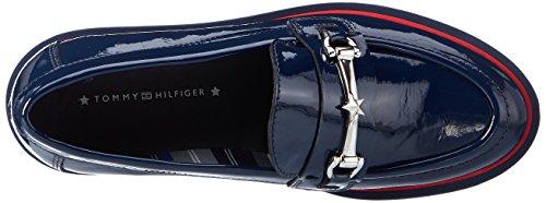 Tommy Hilfiger Damen P1285aulina 3p Slipper Blau (Tommy Navy)