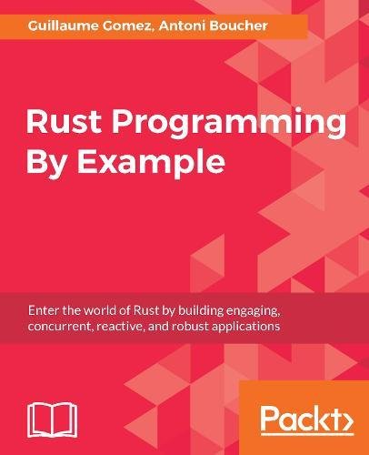 Rust Programming By Example: Enter the world of Rust by building engaging, concurrent, reactive, and robust applications Paperback – January 11, 2018 Guillaume Gomez Antoni Boucher 1788390636 Functional programming