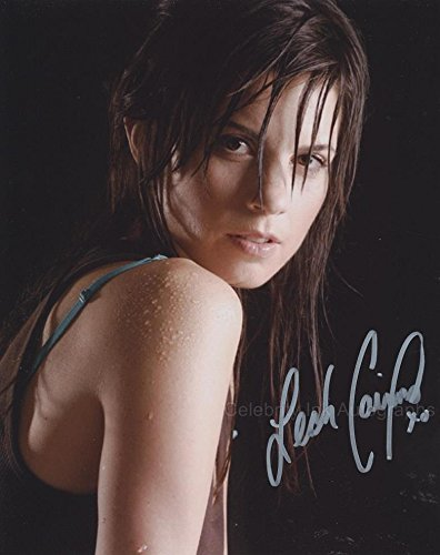 "LEAH CAIRNS as Lt. Margaret ""Racetrack"" Edmondson - Battlestar Galactica GENUINE AUTOGRAPH"