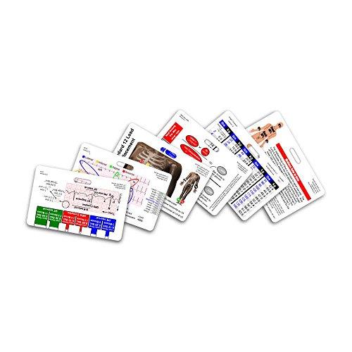 Mini Paramedic Horizontal Badge Card Set - 6 Cards