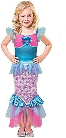 Disfraz de Sirena de Sirena del mar para niños Medium (7-8 Years ...