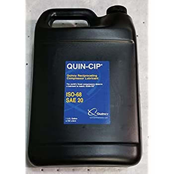 Quincy Quin-Cip 112542 SAE 20 Compressor Oil (112542G068-1 Gallon)