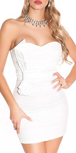 Koucla S Blanc Blanc Robe De Cocktail Femmes