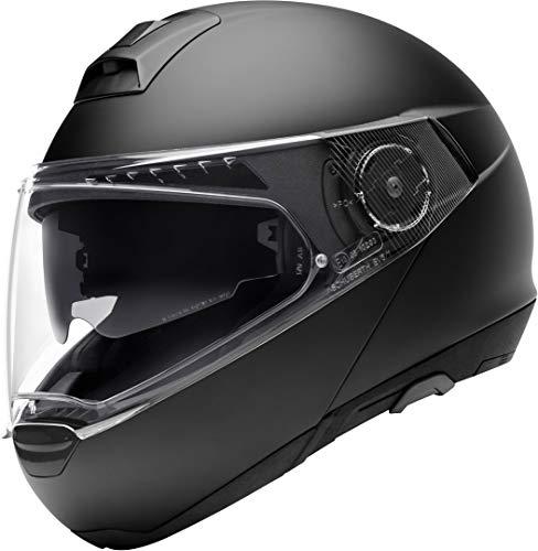 Schuberth 4549248360 C4 Pro – Motorradhelm Unisex – Erwachsene, schwarz (matt schwarz), 65 (XXXL), 1 Stück