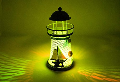 Nautical Anchor Color Changing Led Lantern Night Light