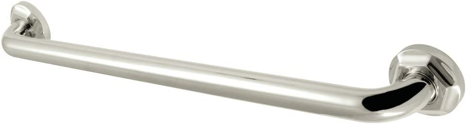 Polished Chrome Kingston Brass DR714301 Designer Trimscape Metropolitan Decor 30-Inch Grab Bar with 1.25-Inch Outer Diameter