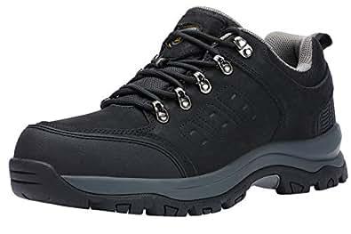 Amazon.com | CAMEL CROWN Mens Hiking Shoes Low Cut Boots