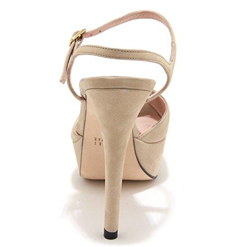 women donna GOTME 86086 scarpa WEITZMAN shoes sandalo Beige STUART 007wx