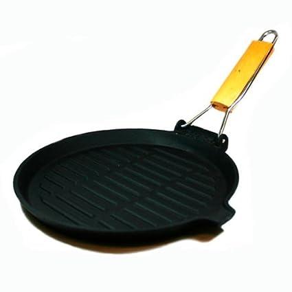 Suprem-inox - Grill de hierro fundido 24 cm