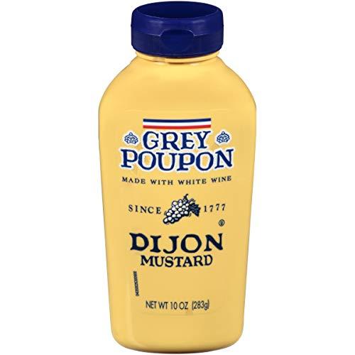 Grey Poupon Dijon Mustard Squeeze Bottle, 10 oz. (Tabletop sauce) -