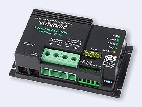 Votronic LCD-Solar-Computer S fü r MPP- und SR- Serie LCD Solar-Computer S