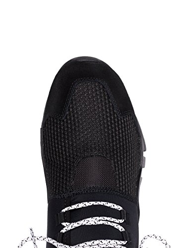 ADIDAS Y-3 YOHJI YAMAMOTO Herren AC7202 Schwarz Stoff Sneakers