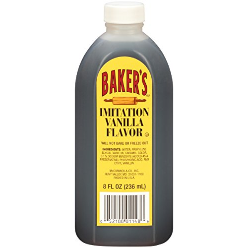Baker's Imitation Vanilla Flavor, 8 fl oz Now $0.98 (Was $2.94)