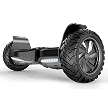 """HOVERBIRD HBSUV8-BK 8.5"""", Hands Free Two Wheel Self Balancing Electric Hoverboard Scooter, Black"""