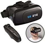 VR Eye® VR 3D Virtual Reality Glasses Headset + Bluetooth Controller for Android devices